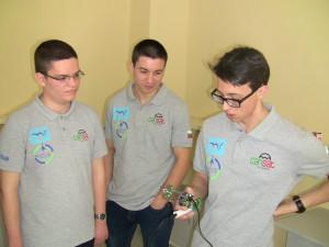 Екипът CanSatBulgaria към 20.02.2016 г.